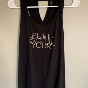 Fuel Your Soul cutout tank top